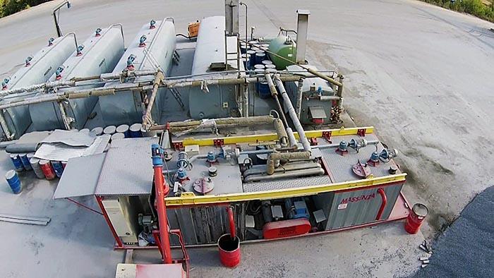 Установка для производства полимер-битумного вяжущего (ПБВ)