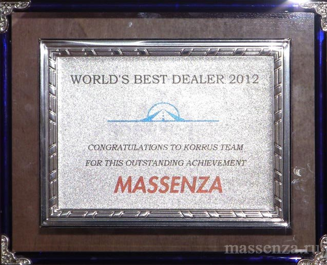WORLD' S BEST DEALER 2012