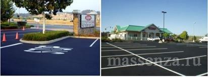 Коммерческие парковочные площадки