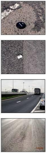 Необработанное дорожное покрытие, дорога с умеренным транспортным потоком